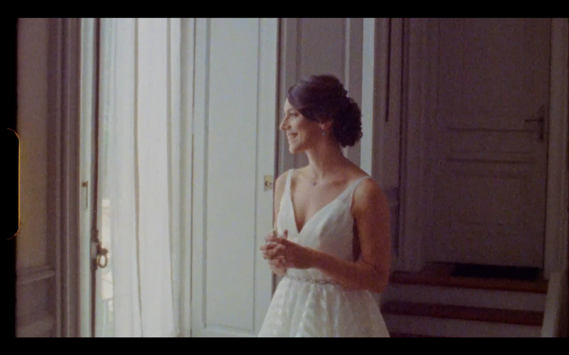 hayley paige wedding dress chateau les carrasses - super 8 wedding video